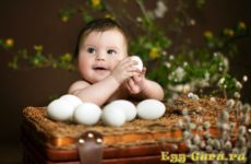 С какого возраста можно яйцо всмятку