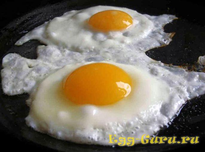 Как поджарить утиные яйца