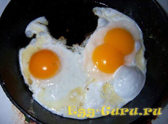 глазунья из утиных яиц
