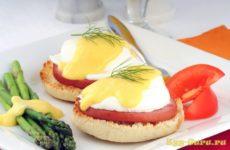 Как сварить яйцо бенедикт