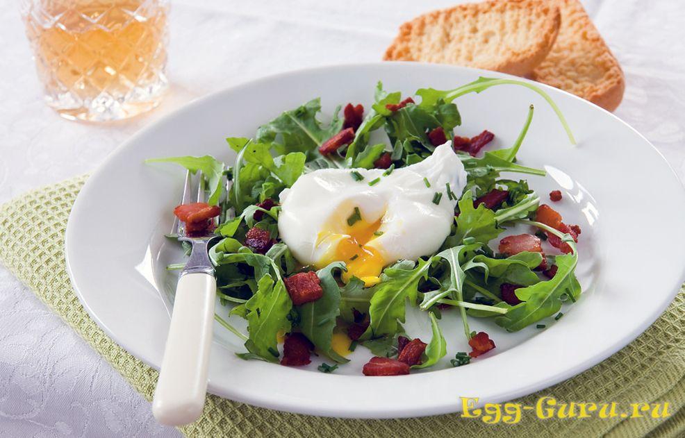 сколько калорий в яйцах пашот