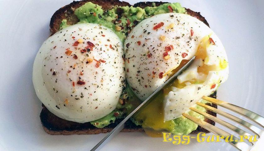 калорийность блюда яйцо пашот