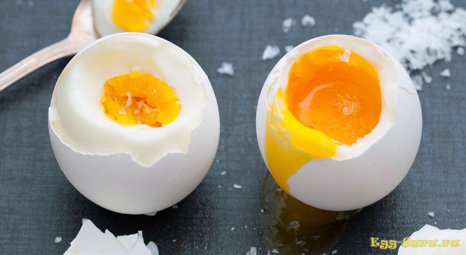 Яйца всмятку — диетический продукт