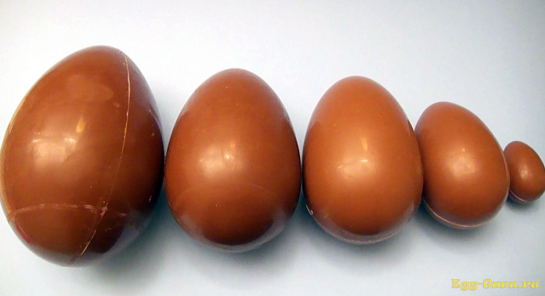 Куриные яйца бывают разной величины