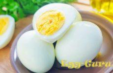 Сколько углеводов содержится в вареном яйце вкрутую