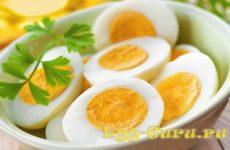 Яйца вкрутую на завтрак: польза и способы приготовления
