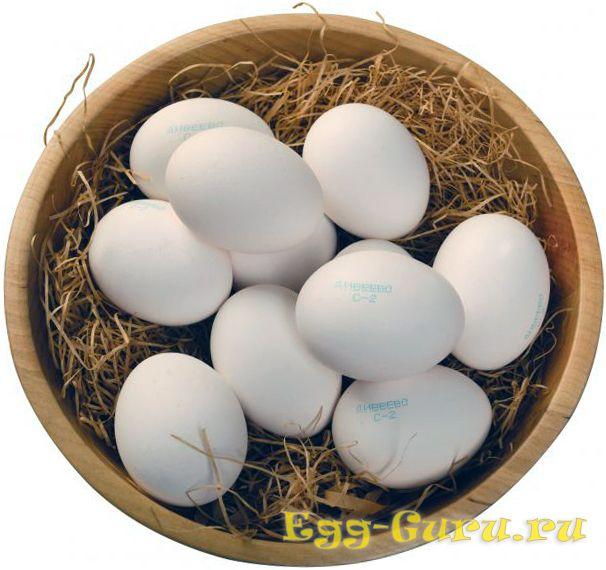Куриное яйцо 2 категории