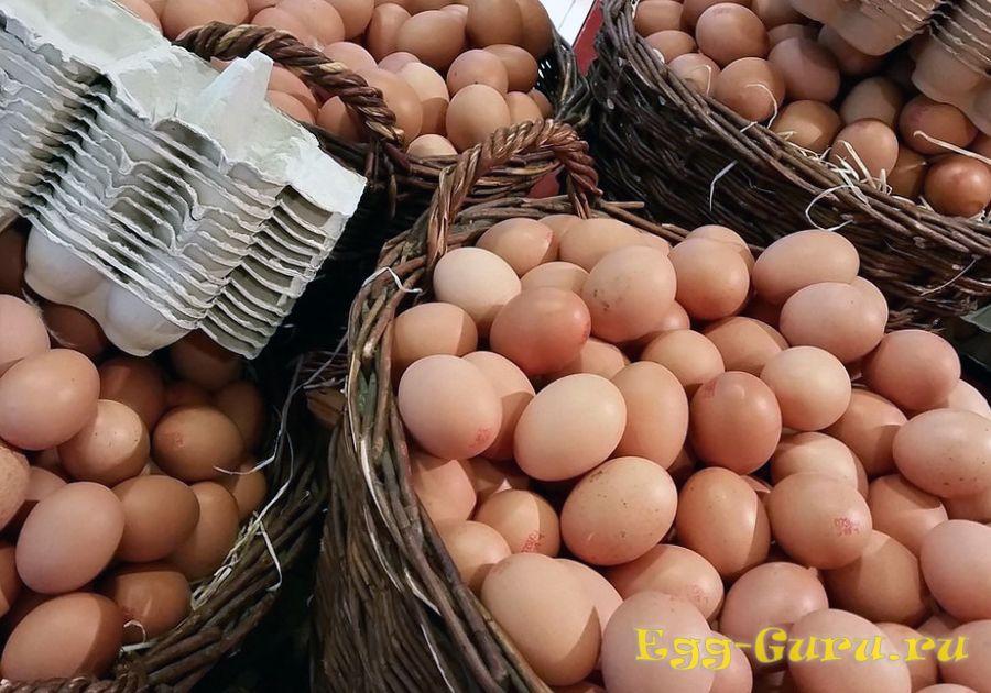 Отличие яиц 3 категории