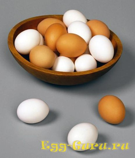 Состав куриных яиц 3 категории