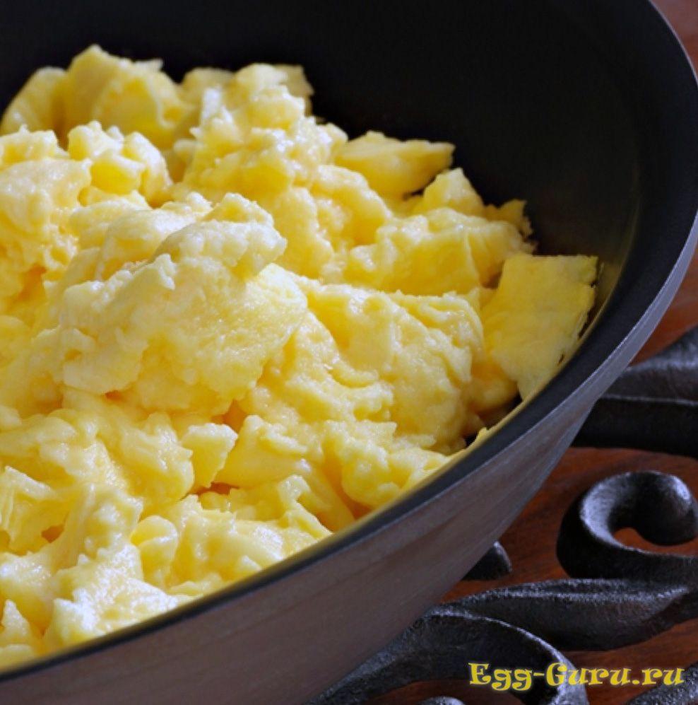 Скрэмбл яйца