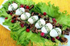 Фаршированные перепелиные яйца — рецепт с фото