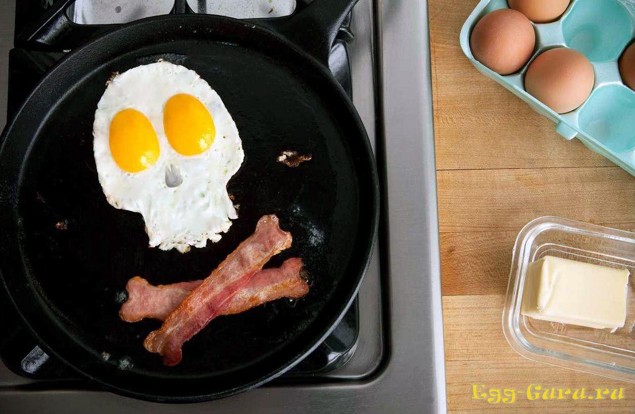 Жареная пища вредна для здоровья