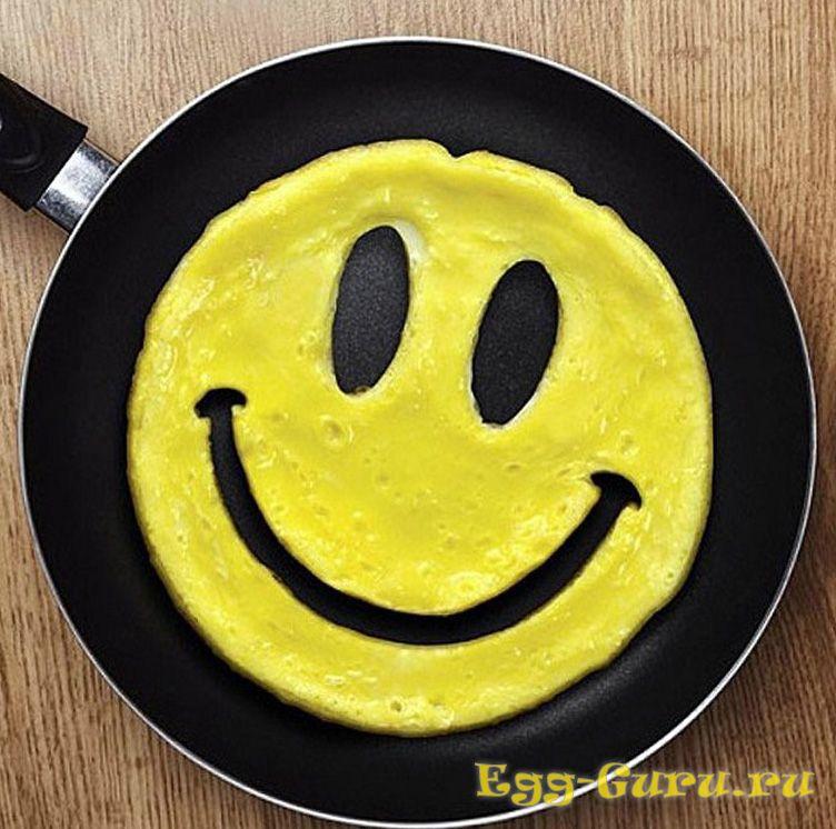 В яйцах много витаминов
