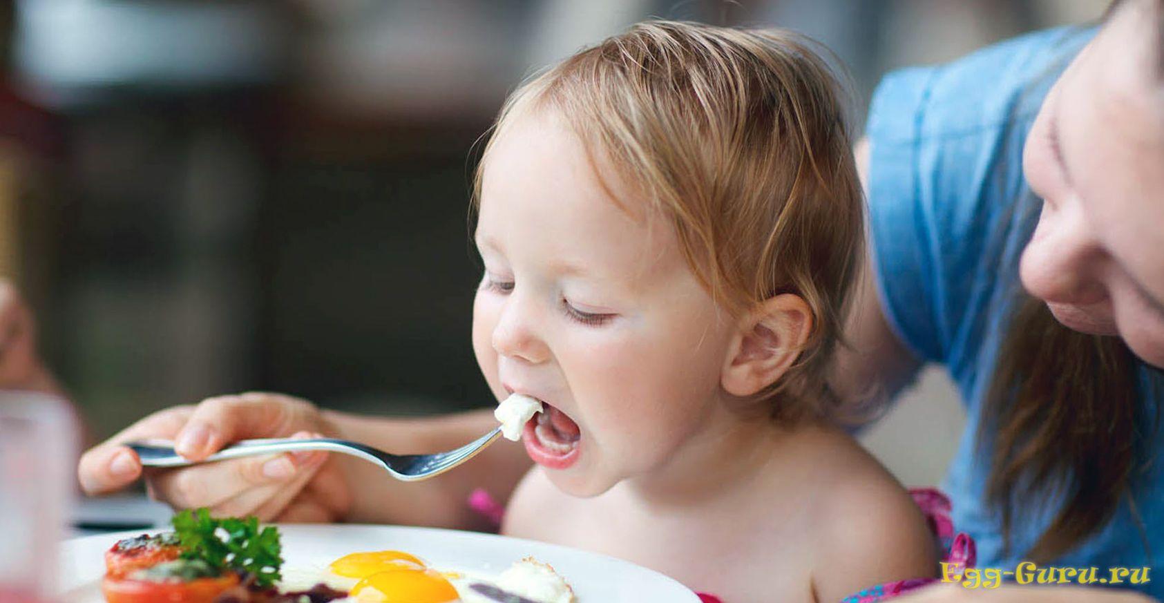 Яичные белок и желток — сильные аллергены