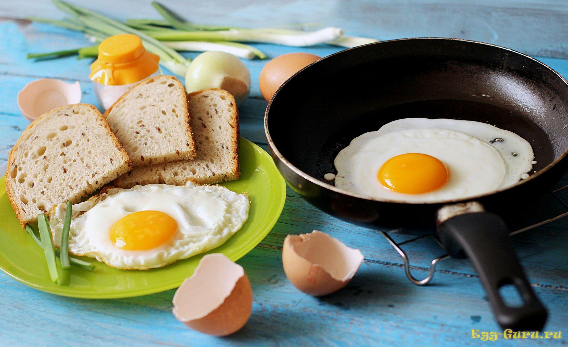 Аппетитная яичница — хорошее начало дня