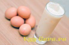 Коктейль из яиц для роста мышц