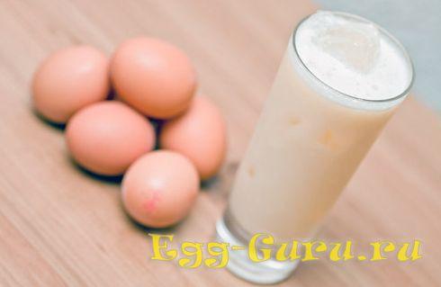 Коктейль из яиц