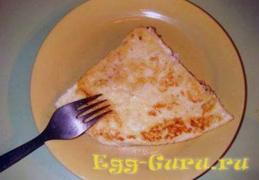 Детский омлет из яиц перепелки