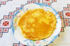 Омлет без молока рецепт с фото