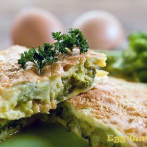 Омлет с капустой — рецепт