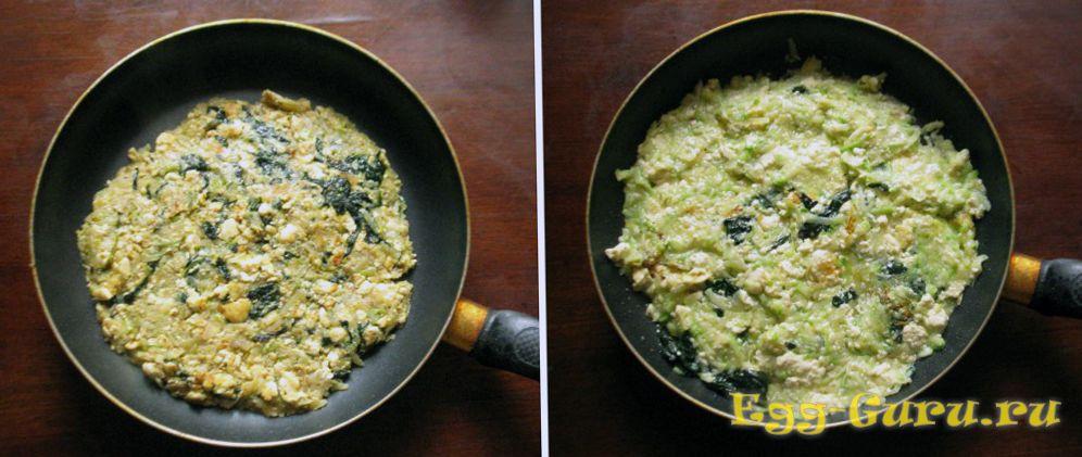 Приготовление омлета без яиц для вегетарианцев