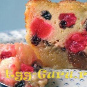 Омлет в пакете c ягодами и без: рецепт с фото