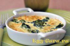 Омлет с брокколи: рецепты с фото