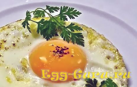 Кабачковая яичница