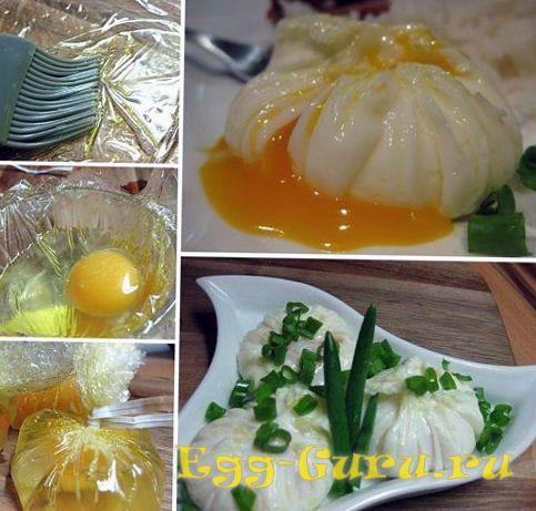 Приготовление яйца пашот