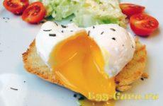 Яичница пашот: рецепт с фото
