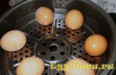 Как сварить яйца в мультиварке всмятку